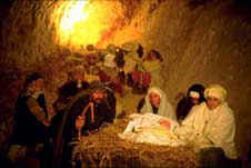 Live staging of the Nativity in Equi Terme